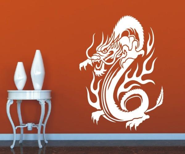 Wandtattoo - Chinesische Drachen | 2