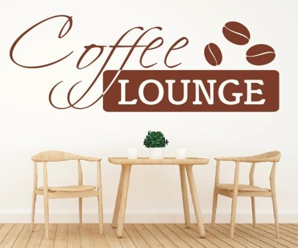 Wandtattoo - Coffee Lounge - Kaffee   2