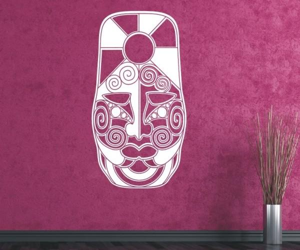 Wandtattoo - Maori - Maskenmotiv | 18