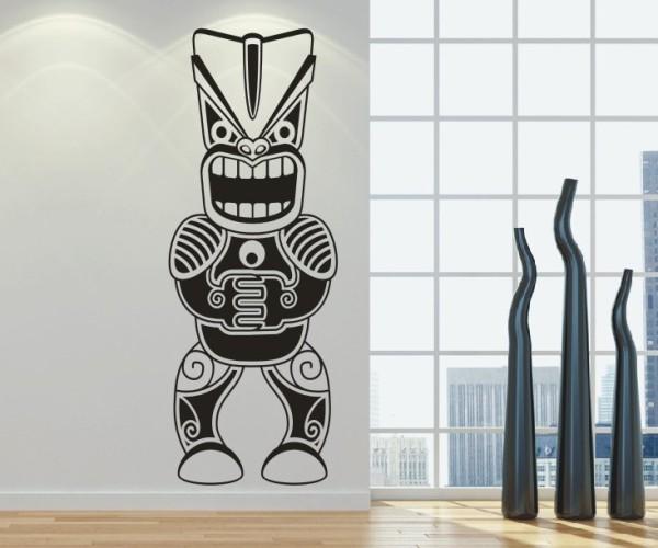 Wandtattoo - Maori - Maskenmotiv | 28