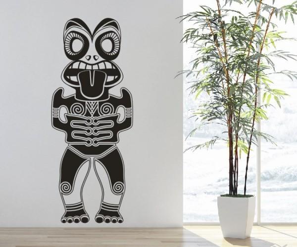 Wandtattoo - Maori - Maskenmotiv | 27