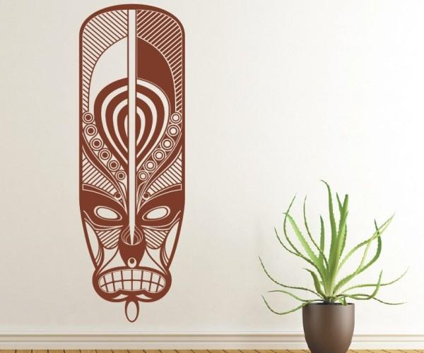 Wandtattoo - Maori - Maskenmotiv   31