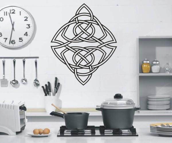 Wandtattoo - Keltische Knoten /Celtic Ornamente - Variante 38