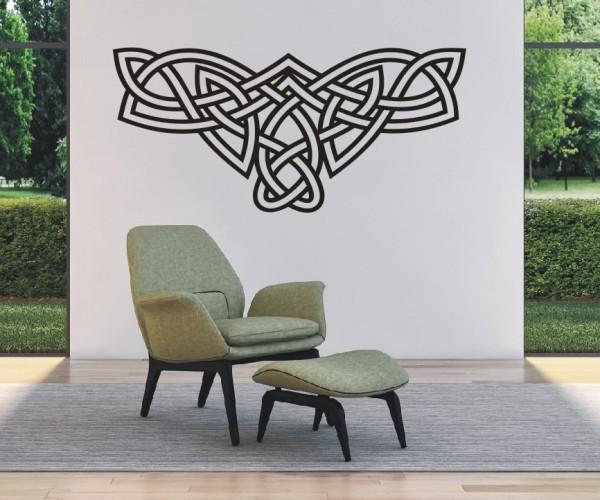 Wandtattoo - Keltische Knoten /Celtic Ornamente - Variante 68