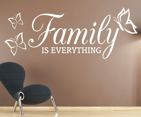 Wandtattoo - Family is everything | 4