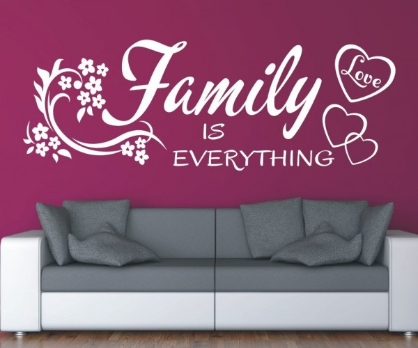 Wandtattoo - Family is everything   9