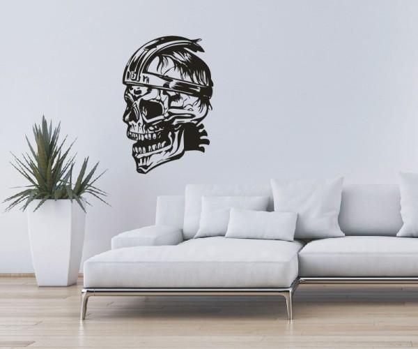 Wandtattoo - Totenkopfmotiv   16