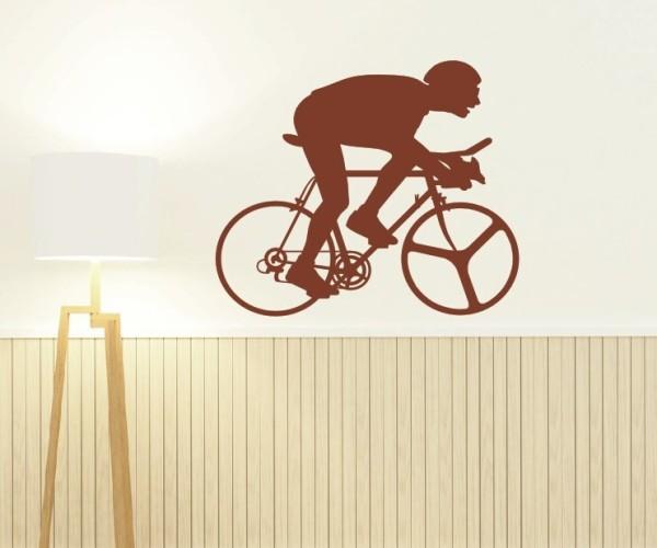 Wandtattoo - Radsport - Silhouette / Schattenmotiv   1