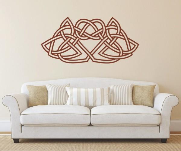Wandtattoo - Keltische Knoten /Celtic Ornamente - Variante 64