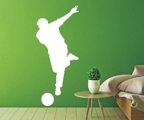 Wandtattoo - Fußball - Silhouetten / Schattenmotiv | 7