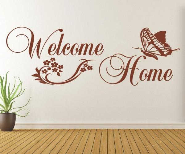 Wandtattoo - Welcome Home | 2