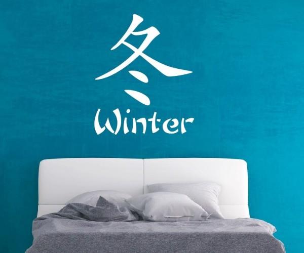 Wandtattoo - Chinesische Zeichen - Variante 7