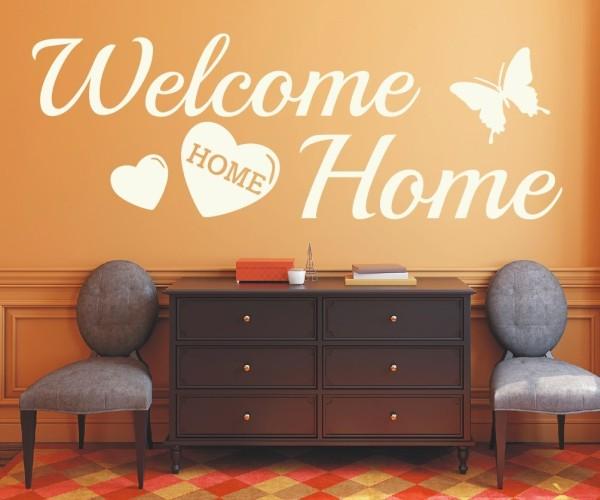 Wandtattoo - Welcome Home - Variante 8