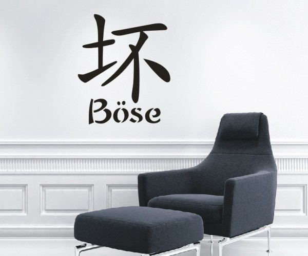 Wandtattoo - Chinesische Zeichen - Variante 1