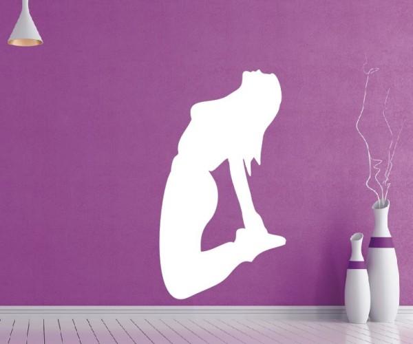 Wandtattoo - Turnen & Gymnastik - Silhouette / Schattenmotiv   8