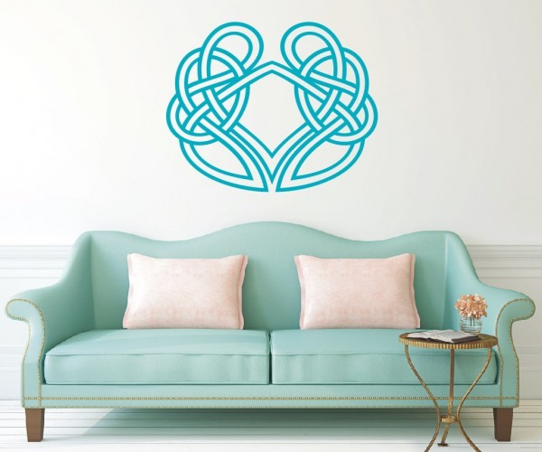Wandtattoo - Keltische Knoten /Celtic Ornamente - Variante 37