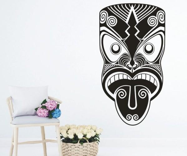 Wandtattoo - Maori - Maskenmotiv | 21