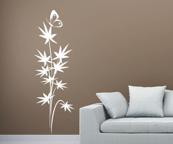Wandtattoo - Blumenmotiv / Blumenranke | 246