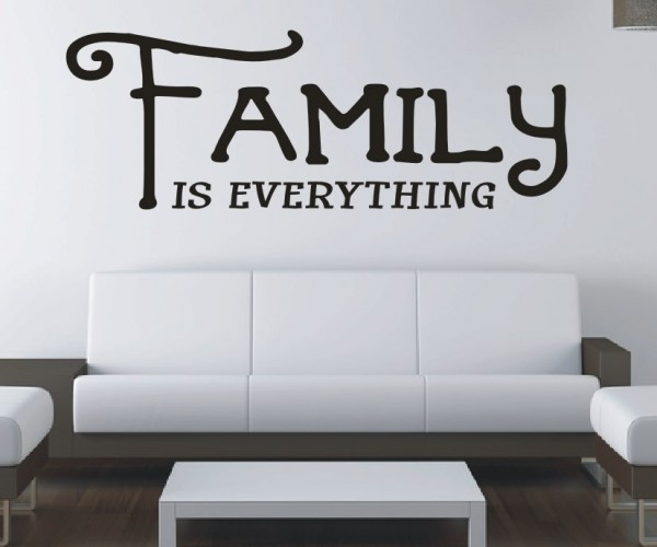 Wandtattoo - Family is everything | 7