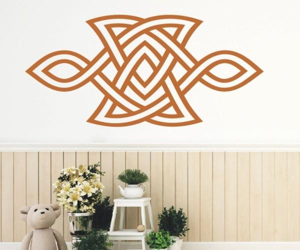 Wandtattoo - Keltische Knoten /Celtic Ornamente - Variante 69