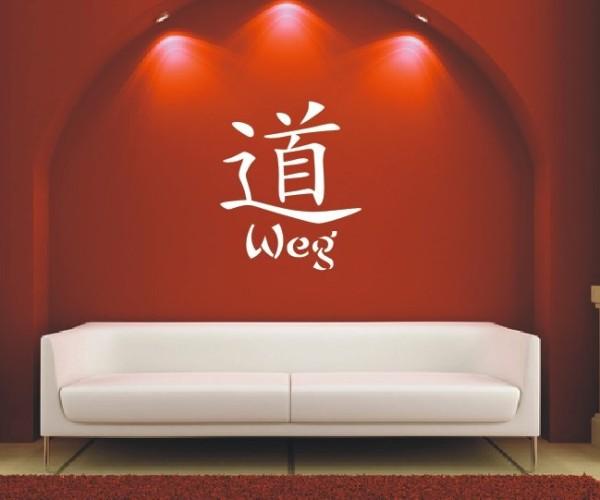 Wandtattoo - Chinesische Zeichen - Variante 24