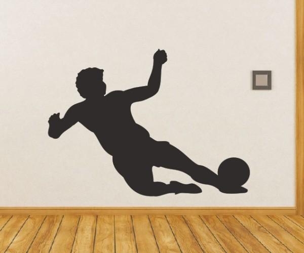 Wandtattoo - Fußball - Silhouetten / Schattenmotiv | 3