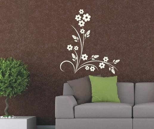 Wandtattoo - Blumenmotiv / Blumenranke   18