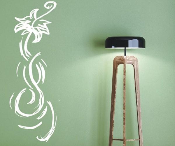 Wandtattoo - Blumenmotiv / Blumenranke - Variante 250