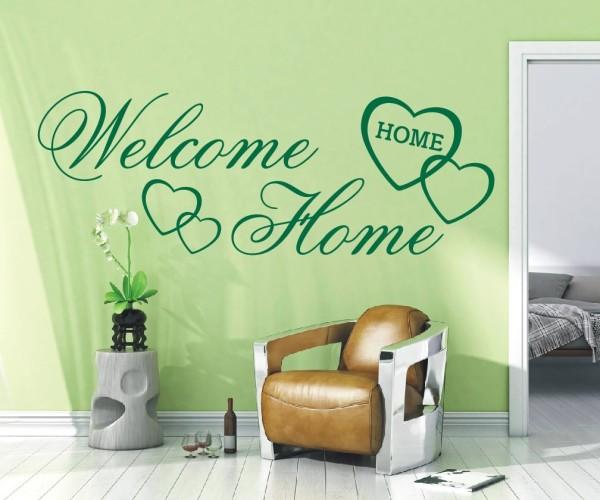 Wandtattoo - Welcome Home - Variante 5