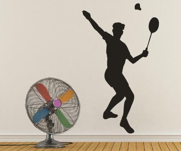 Wandtattoo - Tennis - Silhouette / Schattenmotiv | 4
