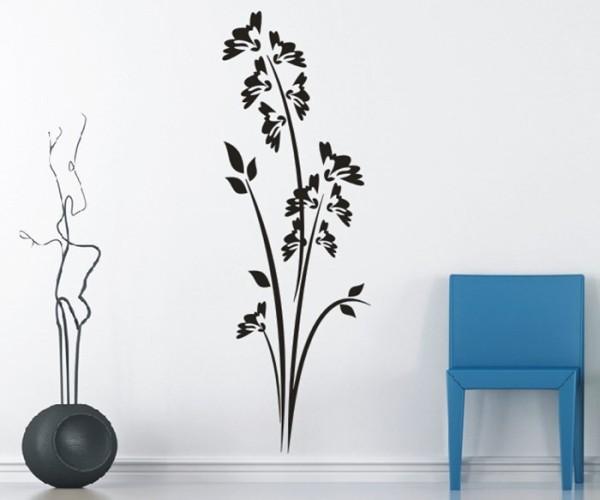 Wandtattoo - Blumenmotiv / Blumenranke - Variante 230