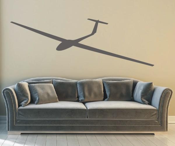 Wandtattoo - Luftsport - Silhouette / Schattenmotiv   3