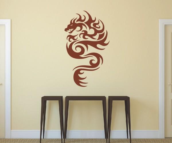 Wandtattoo - Chinesische Drachen - Variante 18