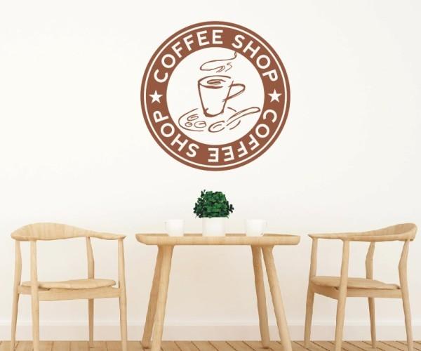 Wandtattoo - Küche - Tee Kaffee Küche Esszimmer Coffeshop Wandbild Wanddeko-7