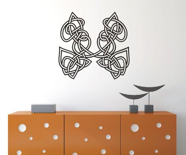 Wandtattoo - Keltische Knoten /Celtic Ornamente - Variante 1