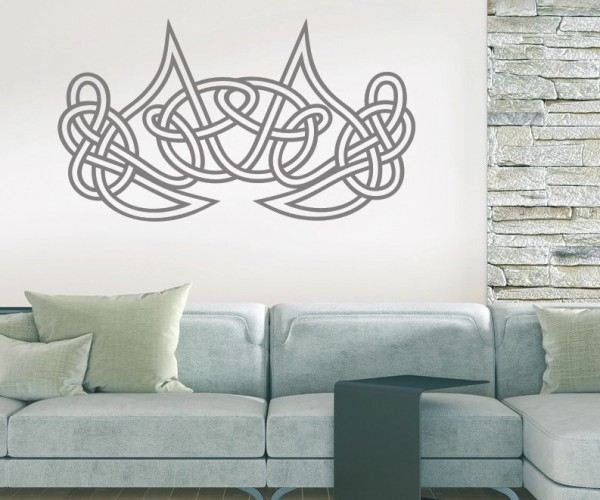 Wandtattoo - Keltische Knoten /Celtic Ornamente - Variante 58