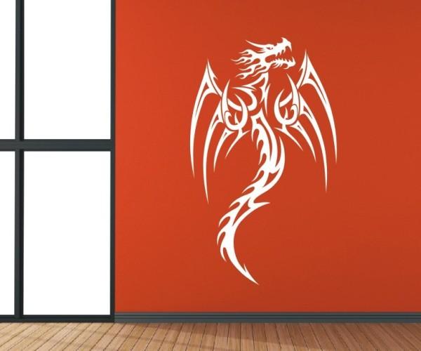 Wandtattoo - Chinesische Drachen - Variante 23