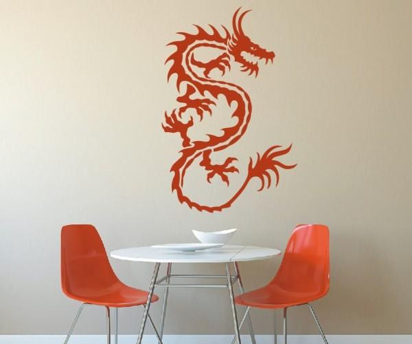 Wandtattoo - Chinesische Drachen - Variante 14
