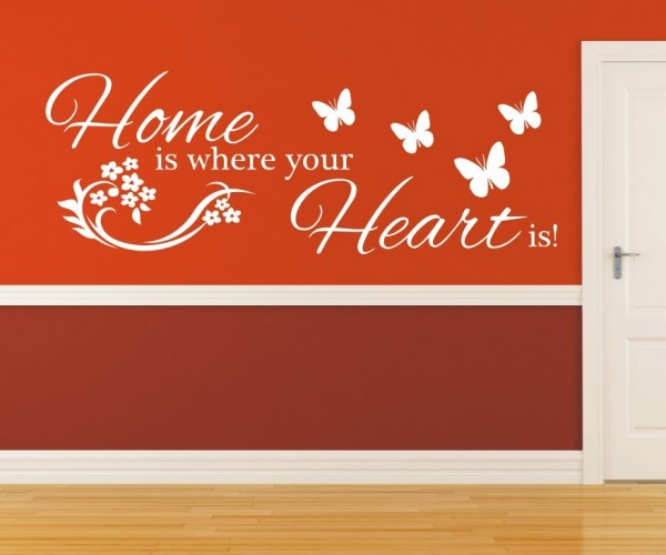 Wandtattoo - Home is where your Heart is! | 4
