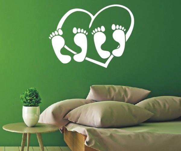 Wandtattoo - Schlafzimmermotiv - Variante 6