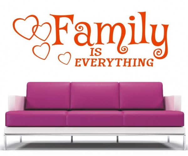 Wandtattoo - Family is everything | 8