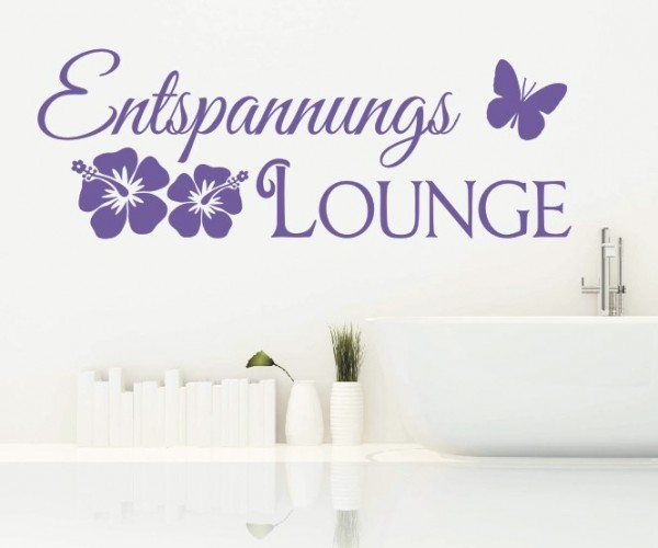 Wandtattoo - Entspannungs Lounge | 2