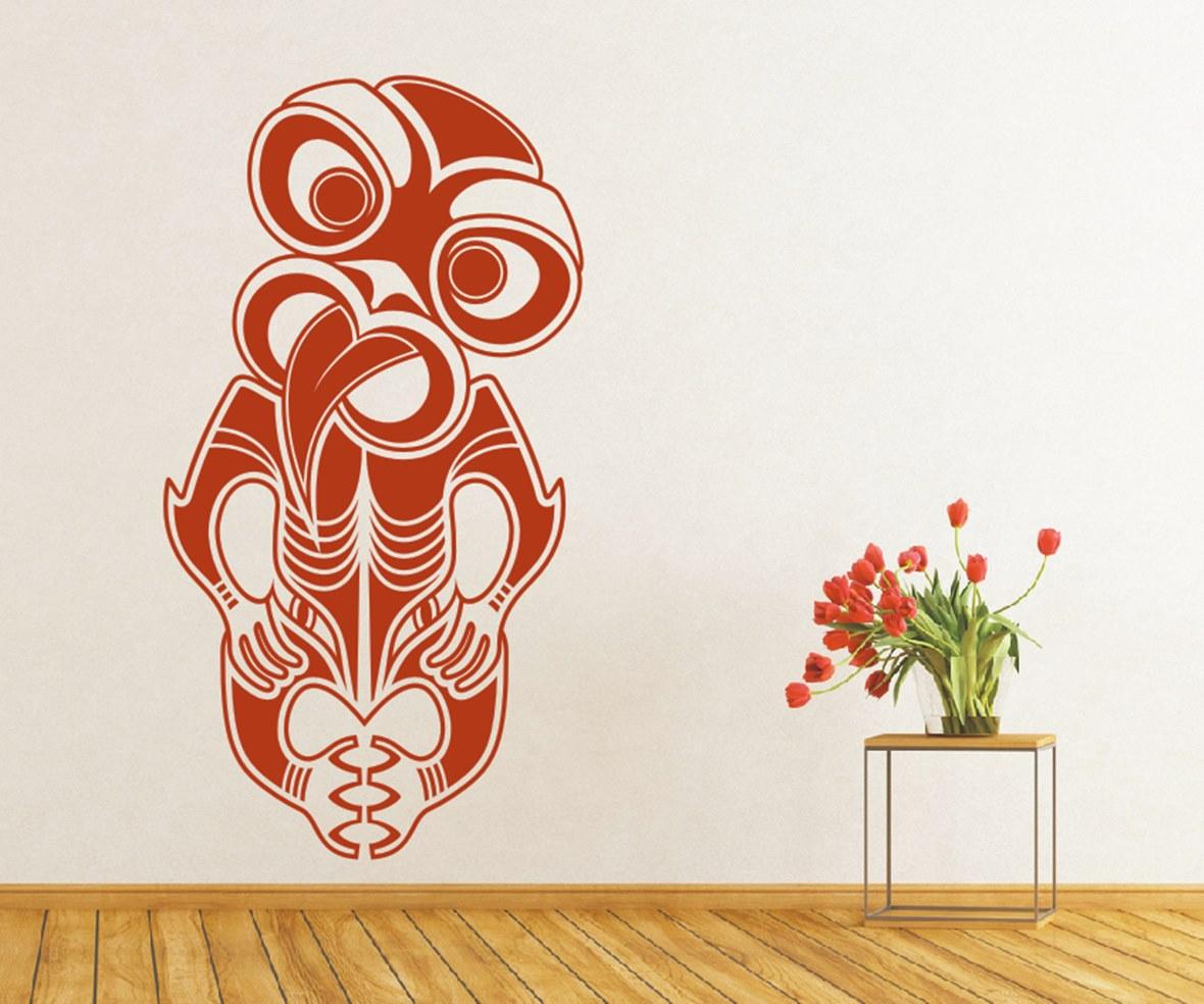 Maori Masken & Tiermotive