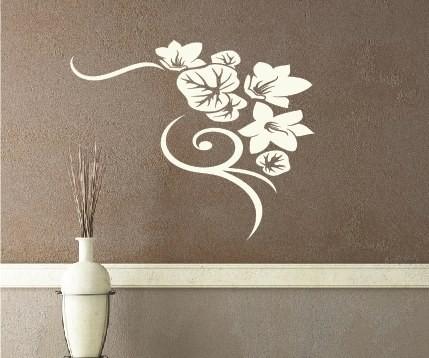 Wandtattoo - Blumenmotiv / Blumenranke - Variante 35