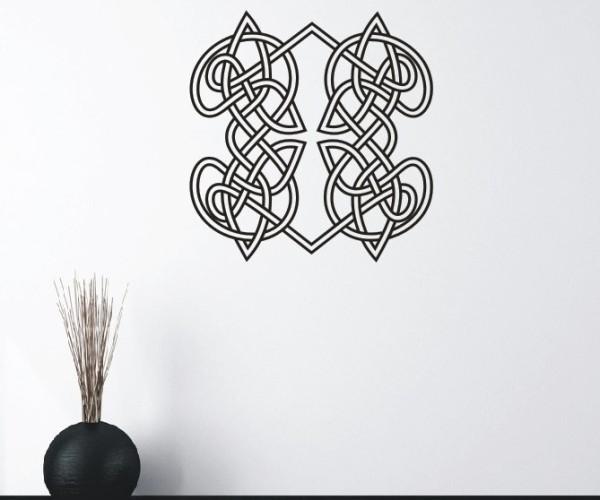 Wandtattoo - Keltische Knoten /Celtic Ornamente   3