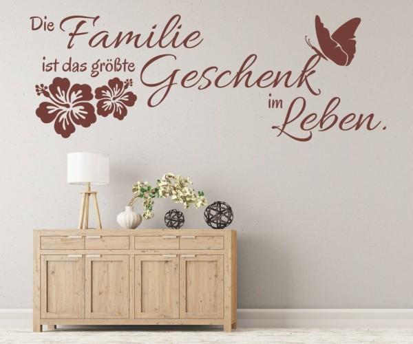 Wandtattoo - Die Familie ist das größte Geschenk im Leben. | 6