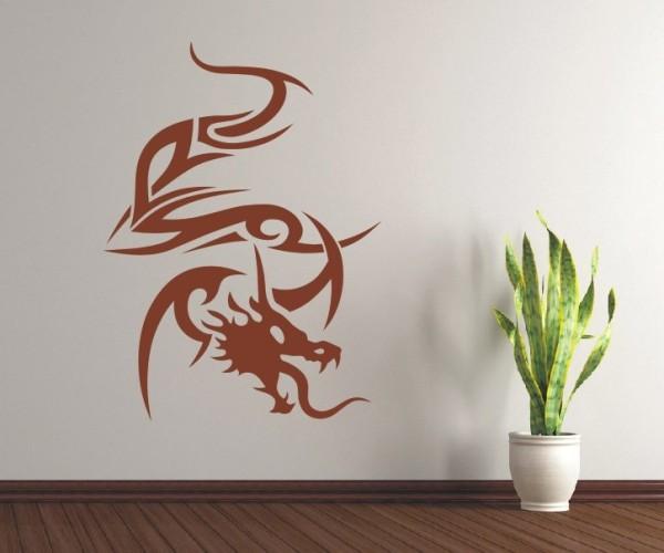 Wandtattoo - Chinesische Drachen - Variante 1