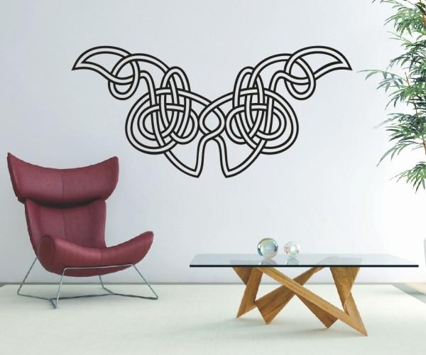 Wandtattoo - Keltische Knoten /Celtic Ornamente - Variante 66