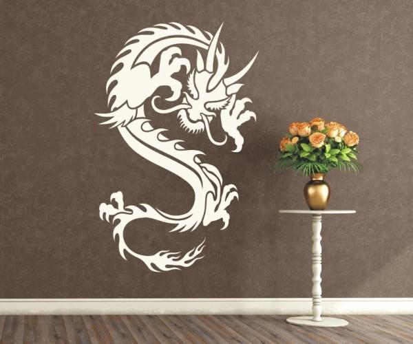 Wandtattoo - Chinesische Drachen | 12