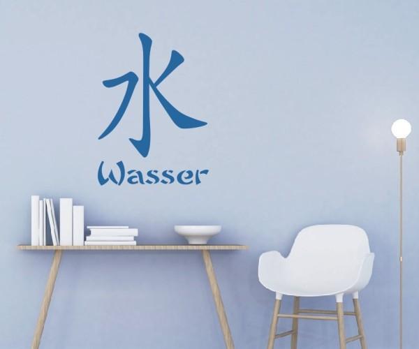 Wandtattoo - Chinesische Zeichen - Variante 37